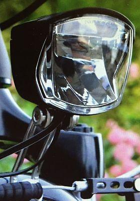 B Chel Led Headlight   Secu Forte Sensor  70 Lux For Hub Dynamo