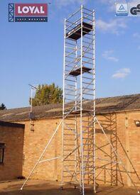 SCAFFOLD- ALUMINIUM - 10m high