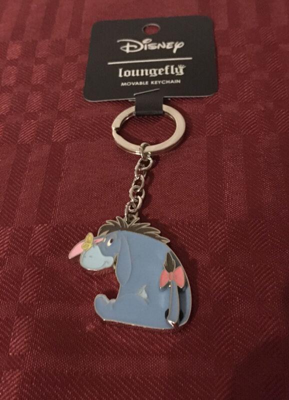 Loungefly Disney Winnie The Pooh Eeyore Keychain New