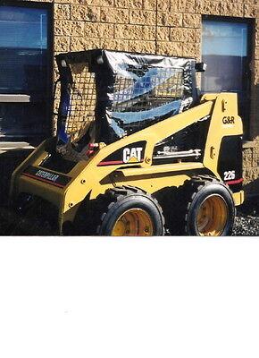 Usa Cat Soft Skid Steer Cab Enclosure 216b 226b 242b 247b 252 B 257b 277b