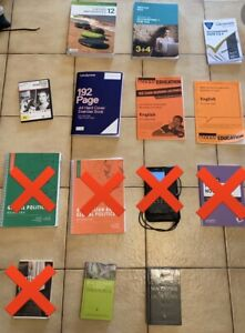Variety of Year 12 VCE textbooks for SALE