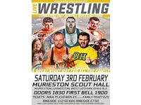 Live Family-friendly Professional Wrestling in Livingston