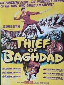 THIEF OF BAGHDAD (DVD 1961 Steve Reeves classic sci-fi fantasy)