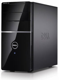 Dell Vostro PC upgraded for gaming - GTX660oc, Quad-Core CPU, 1TB HDD, USB 3.0, HDMI, Wi-Fi, DVD-RW