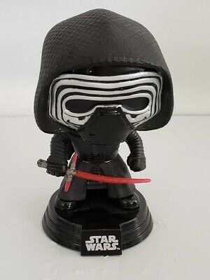 Star Wars Kylo Ren Funko Pop Bobble Head #77 The Force Awakens with stand 2015