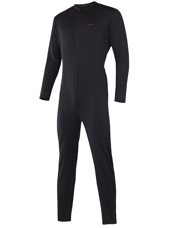 Terramar Men's Military Fleece Lined Heavyweight Black Therm
