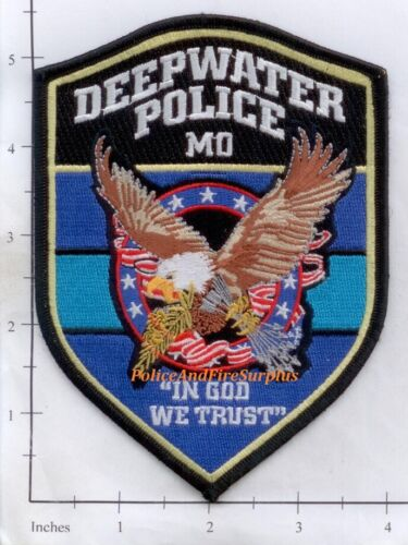 Missouri - Deepwater MO Police Dept Patch - Eagle