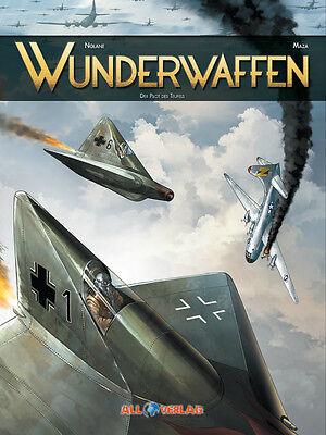WUNDERWAFFEN #1-6 komplett (deutsch) VZA LUXUS-HC EA lim.33 Ex.+ signed Artprint