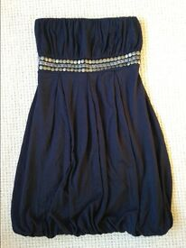 Black Party Dress 10/11 yrs old Excellent Condition