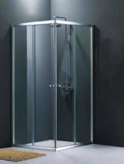 ON SALE - BRAND NEW 900 x 900 Shower Screen - Sliding Doors