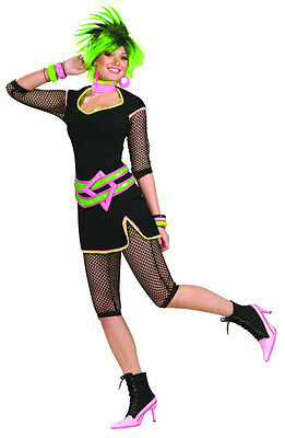New Wave 80's Rock Pop Star Diva Madonna Lauper Dress Up Halloween Adult Costume