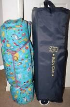 Babyclub portacot and babyhood foam mattress Somerset Area Preview