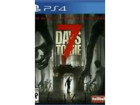 Ps4 7 days to die used once