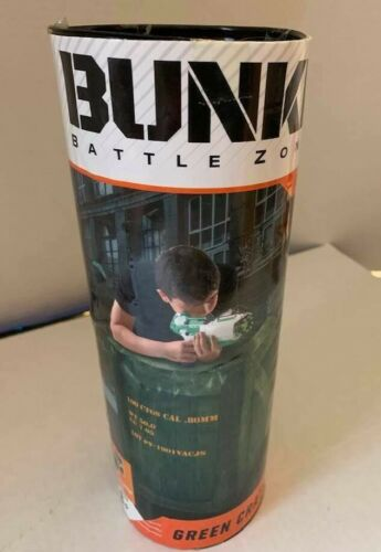 NEW Bunkr Inflatable Battle Zones Green Crate Obstacle Course Bunker Kids Toys