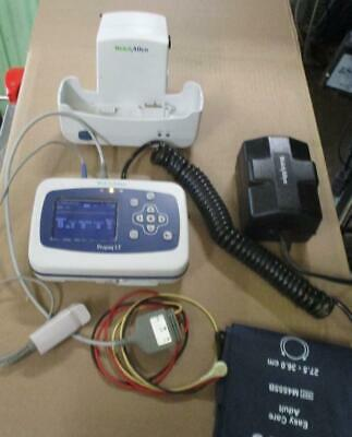 Welch Allyn Propaq Lt Vital Signs Monitor Ekg Nellcor Spo2 Mibp