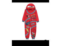 Brand new Disney Pixar cars 3 pyjama onsie 3-4years