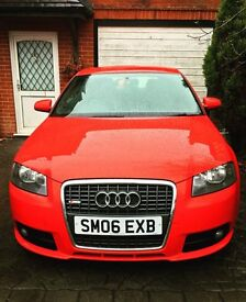 AUDI A3 2.0 TFSI S LINE SPECIAL EDITION **FSH / HPI CLEAR / 2 KEYS**