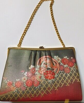 Stunning vintage Japanese kimono bag/purse