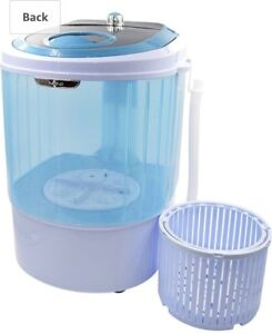 Panda Portable compact washing machine with spin basket