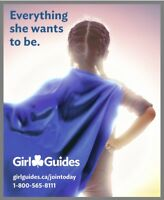 Girl Guides of Canada – Leaders needed for Pathfinders