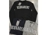 Men's dsquared2 Sweater Black