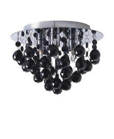 Black droplet Ceiling light
