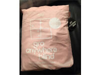 Limited edition pink gro blind black out blind