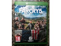 Far cry 5 xbox one mint condition