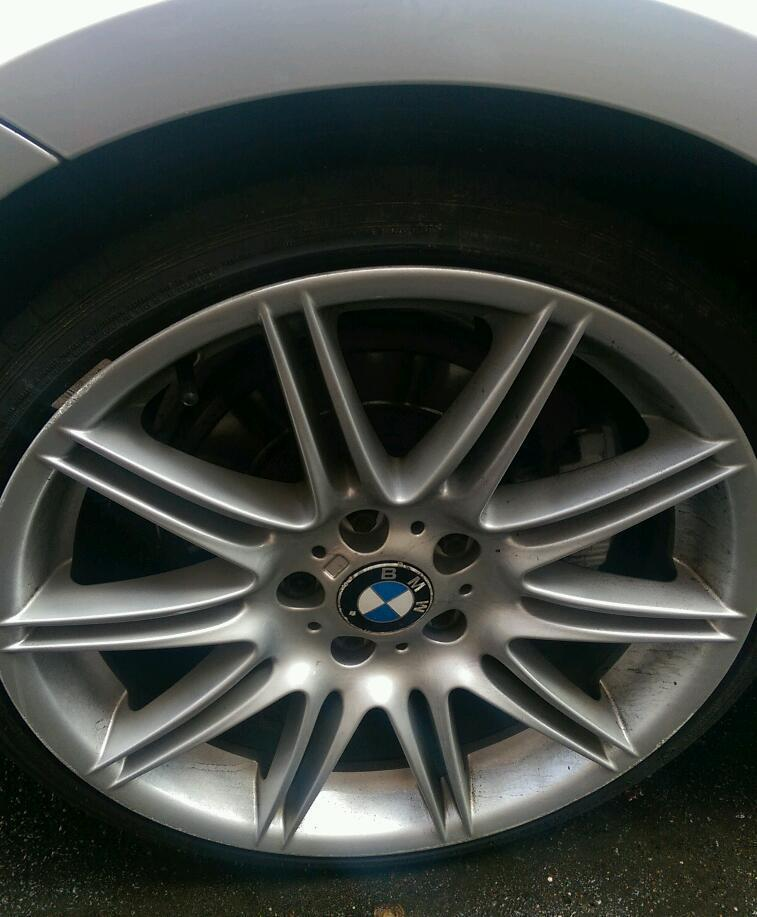 BMW mv4 alloy wheels and tyres