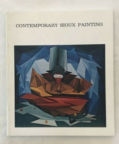 1970 CONTEMPORARY SIOUX PAINTING Exhibition Catalog Indian Arts & Crafts Board