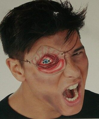 Halloween Zombie Eye Patch Latex Blood Swollen Costume Makeup Theater Stage  - Halloween Eye Patch Makeup