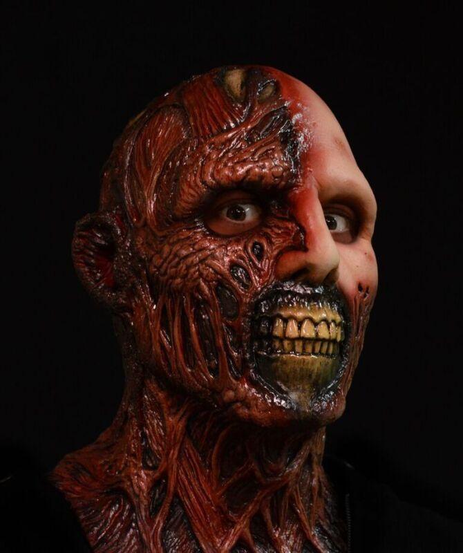 Officially Licensed Deluxe Full Head Darkman Mask Adult Horror Halloween Haunt