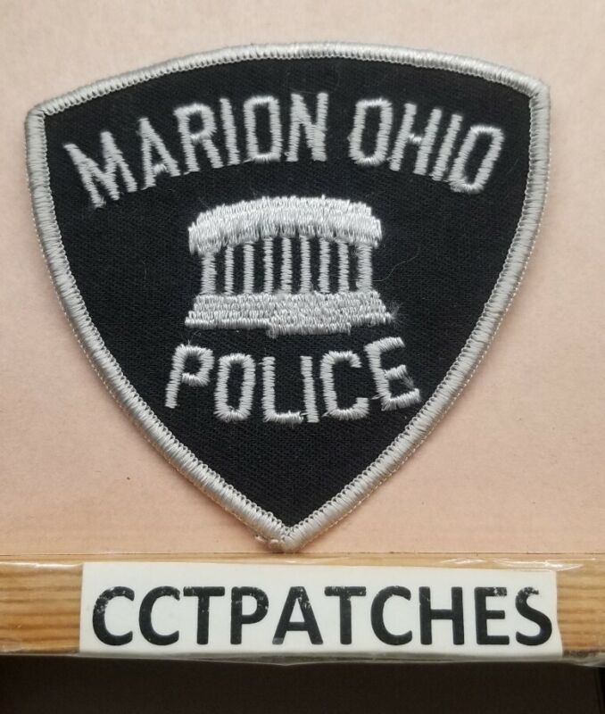MARION, OHIO POLICE SHOULDER PATCH OH