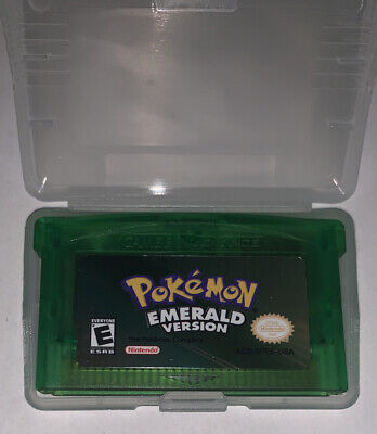 Pokemon Emerald Version GBA Gameboy Advance reproduction