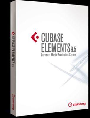 Steinberg Cubase Elements 9.5 + Usb Dongle  2 x Plugins  -  Neu !