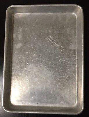 1 Quarter 1/4 size 10 x 13 Aluminum Baking Bread Cookie Bun Sheet Pan