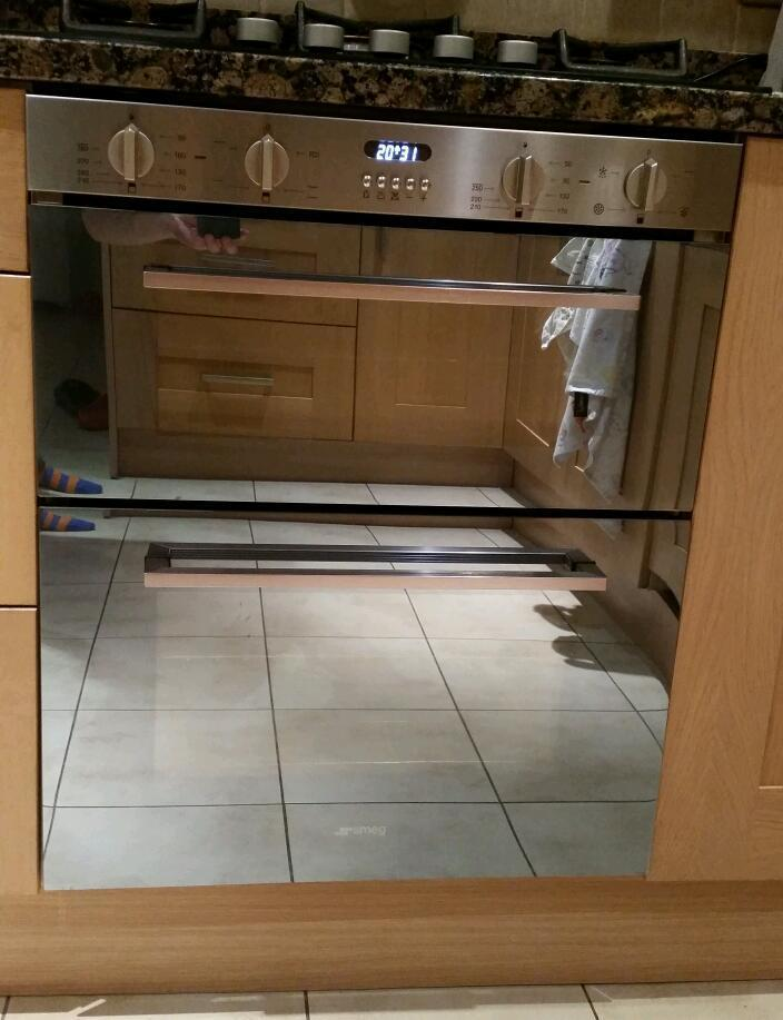 Smeg Cucina DUSF44X Built under double oven - stainless steel | in ...