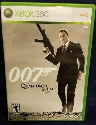James Bond 007 Quantum of Solace - Xbox 360 - Includes Manual