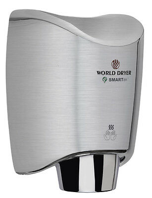 New World Dryer K-973a2 Brushed Stainless Ada Smartdri Automatic Hand Dryer