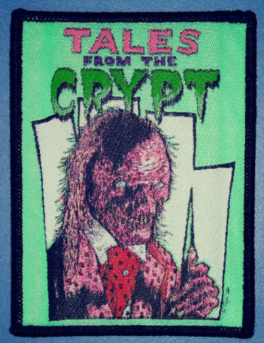 PATCH - Cryptkeeper / Tales from the Crypt (woven) Horror, comedy, keeper 80s TV