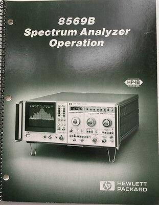Hp 8569b Spectrum Analyzer Operation Manual Pn 08569-90034