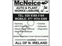 Mobile mechanic and breakdown service