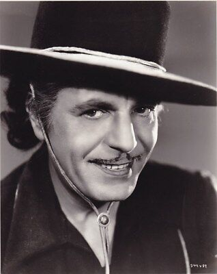 WARNER BAXTER Joaquin Murrieta Vintage 1936 CLARENCE BULL MGM DBW Portrait Photo