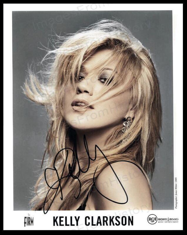 8x10 Print Kelly Clarkson Portrait #KCSI