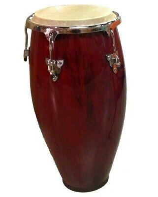 "Conga DRUM 12"" - RED WINE -World Percussion NEW!"