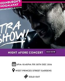 Paolo Nutini Concert in the Gardens 30th December