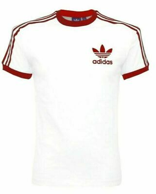 Adidas Originals Mens Short Sleeve Crew Neck T-Shirt California Retro-Small Logo