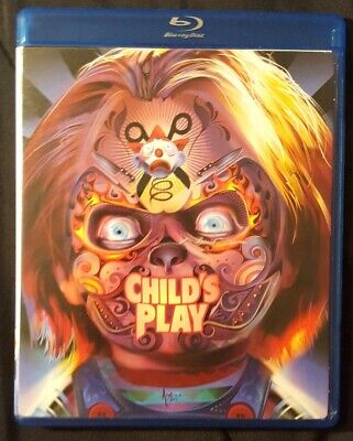 Child's Play Wal-Mart Exclusive Blu-ray Halloween Dia de los Muertos Face Plate