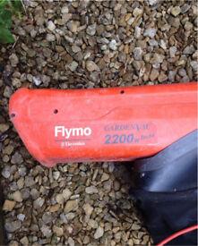 Flymo garden hoover vac