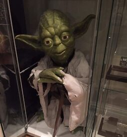 Star Wars life size Yoda replica prop